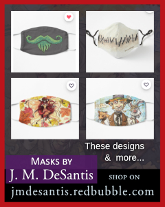 Masks by J. M. DeSantis