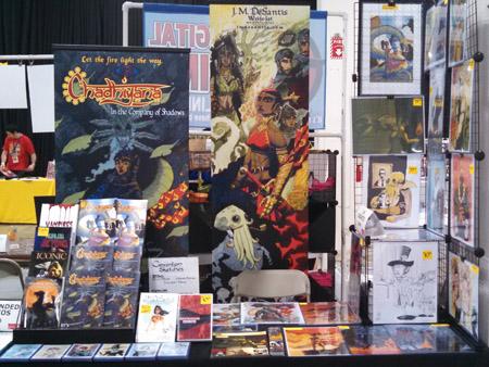 J. M. DeSantis Comic Convention Booth