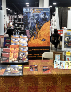 Boston Comic Con 2014 table