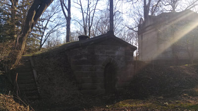 Brown tomb, Brookside Cemetery, Englewood, NJ