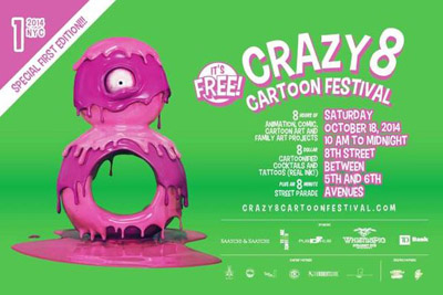 Crazy 8 Cartoon Festival 2014