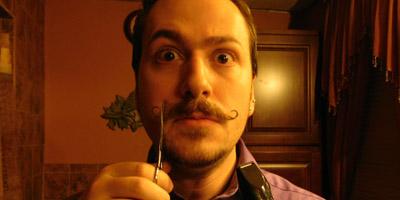 J. M. DeSantis Cuts Off Handlebar Mustache