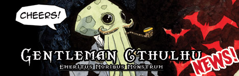 Get Your Name in Gentleman Cthulhu volume 2