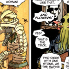 Gentleman Cthulhu: And They Call it Mummy Love comic by J. M. DeSantis