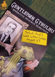 Gentleman Cthulhu sold out