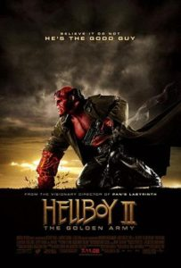 Hellyboy II: The Golden Army cover